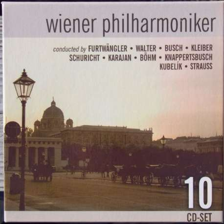 Wiener Philharmoniker: A portrait. 10 CD. Membran. New Copy.