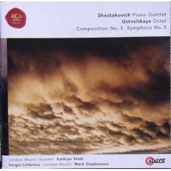 Shostakovich: Piano Quintet, & Ustvolskaya: Symphony no. 5. London Musici Quartet. 1 CD. RCA.