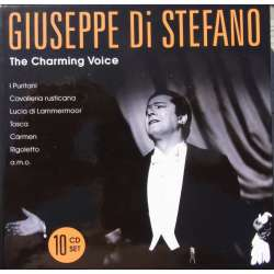 Giuseppe di Stefano: The Charming voice. 10 CD. Box set, Membran