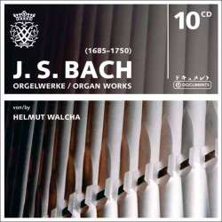 Bach: Orgelværker. Helmuth Walcha. 10 CD. Box set