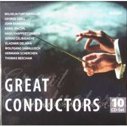 Great Conductors. Furtwängler, Barbirolli, Beecham, Knappertsbusch. 10 CD. Box set