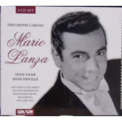 Mario Lanza: The Great Caruso. Songs and movie hits. 2 CD. Membran. New Copy.