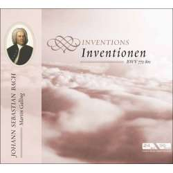 Bach: Inventions. BWV 772 - 801. Martin Galling. 1 CD. Membran