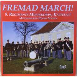 Forward March. Danish Marches. 8. Citadel corps music player, 1 CD Classico cd 621 New Copy