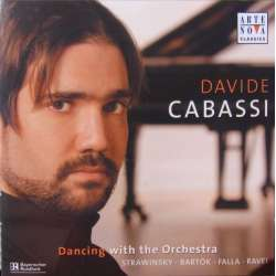 Davide Cabassi: Dancing with the orchestra. Klaver transkriptioner af stravinsky, Bartok, de Falla, og Ravel. 1 CD.