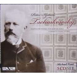 Tchaikovsky: Complete Piano Works. Michael Ponti. 5 CD. Membran