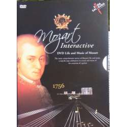 Mozart: Life and music. 7½ hours of music. 1 DVD.