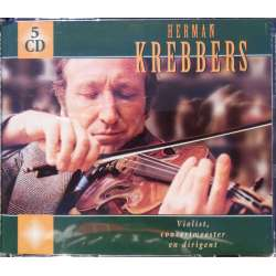 Herman Krebbers, Violinist, Concertmaster and conductor. 5 CD. Sony