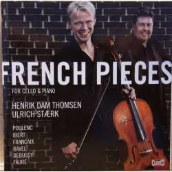 Franske stykker for cello og klaver. Henrik Dam Thomsen, Ulrich Stærk. 1 CD. Classico