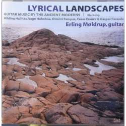 Lyrical Landscapes. Erling Møldrup - Guitar. 1 CD. Classico