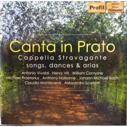 Canta in Prato. Songs, Dances and Arias. Capella Stravangante. 1 CD Hanssler PH 07068