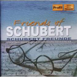 Friends of Schubert. Salburger Hofmusik. Wolfgang Bunner. 1 CD. Hanssler