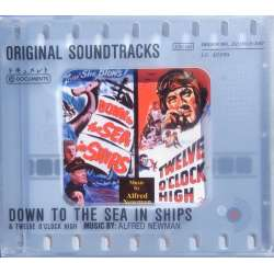 Down to the Sea in Ships. Original Soundtracks. Alfred Newman. 1 CD. Membran