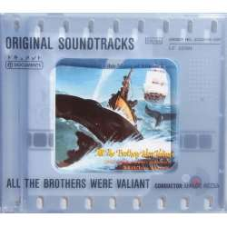 All the Brothers were Valiant. Original Soundtracks. Miklos Rozsa. 1 CD. Membran