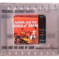 Anna and the King of Siam. Original Soundtracks. Bernard Herrmann. 1 CD. Membran