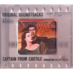 Captain from Castile. Original Soundtracks. Miklos Rozsa. 1 CD. Membran