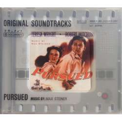 Pursued. Original Soundtracks. Music by Max Steiner. 1 CD. Membran