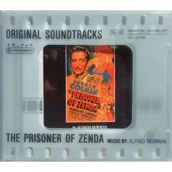 The Prisoner of Zenda. Original Soundtracks with music by Alfred Newman. 1 CD. Documents