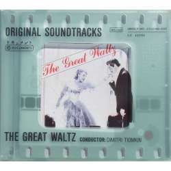 The Great Waltz. Original Soundtracks. Dimitri Tiomkin. 1 CD.