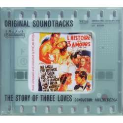 The Story of Three Loves. Original Soundtracks. Miklos Rozsa. 1 CD. Documente