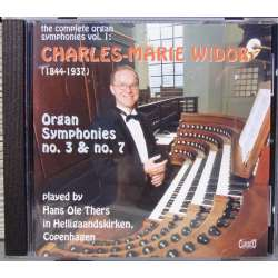 Widor: Orgelsymfoni nr. 3 & 7. Hans Ole Thers. 1 CD. Classico