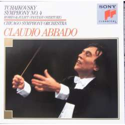 Tchaikovsky: Symfoni nr. 4. & Romeo and Juliet. Claudio Abbado. 1 CD. Sony