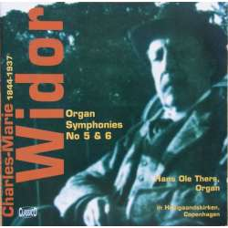 Widor: Orgel symfoni 5 & 6. Hans Ole Thers. 1 CD. Classico