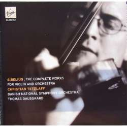 Sibelius: Violinkoncert. Christian Tetzlaff, Danmarks Radio SO. Thomas Dausgaard. 1 CD. Virgin.