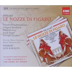 Mozart: Figaros bryllup. Schwarzkopf, Seefried. Karajan. 2 CD. EMI. The home of opera