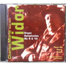 Widor: Orgelsymfoni nr. 9 & 10. Hans Ole Thers. 1 CD. Classico