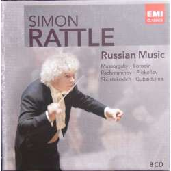 Simon Rattle. Russian musik. 8 CD. EMI