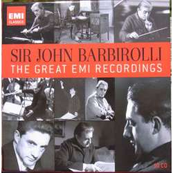 John Barbirolli: The Great EMI Recordings. 10 CD. EMI