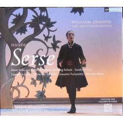 Handel: Serse. von Otter, Zazo, William Christie, Les Arts Florissants. 3 CD. Virgin