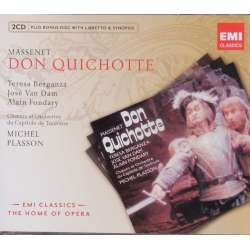 Massenet: Don Quichotte. Plasson. Teresa Berganza, van Dam. 2 CD. EMI. The home of opera