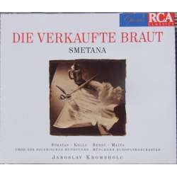 Smetana: The Bartered Bride. Krombholc, Stratas, Kollo, Berry. 2 cd. RCA.Den solgte brud. Stratas, Kollo. Krombholc. 2 CD. RCA