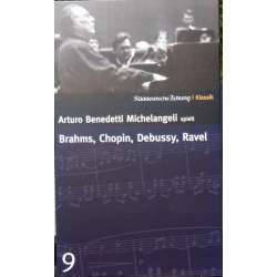 Ravel: Piano Concerto in G + Brahms: Paganini Variations. + Debussy: Images 1 & 2. Arturo Benedetti Michelangeli. 1 CD. DG