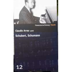 Cladio Arrau spiller Schubert: Klaversonate D 959 & Schumann: Carnaval. 1 CD. Philips.