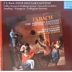 Bach: Coffee Cantata, Peasant Cantata, Wedding Cantatas. Collegium Aureum. 2 CD. DHM