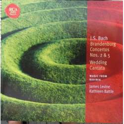 Bach: Wedding Cantata. + Brandenburg Concertos nos. 2 & 5. Kathleen Battle, James Levine. 1 CD. RCA.