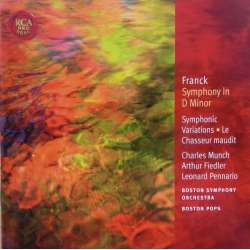 Cesar Franck: Symphony in D & Symphonic variations. Charles Munch, Boston Symphony Orchestra. 1 CD. RCA
