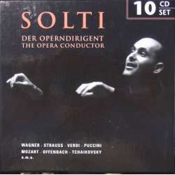 Georg Solti: The Opera conducter. 10 CD. Membran