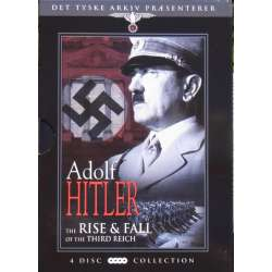 Adolf Hitler Rise & Fall. From the German Archive. 4 DVD.