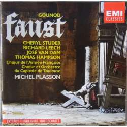 Gounod: Faust i uddrag. Studer, Hampson. Michel Plasson. 1 CD. EMI