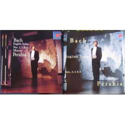 Bach: Engelske suiter - komplet. Murray Perahia. 2 CD. Sony