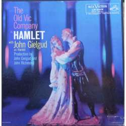 William Shakespeare: Hamlet komplet. John Gielgud, The Old Vic Compagny. 4 LP. RCA