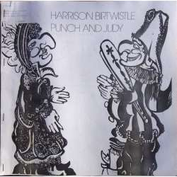 Harrison Birtwistle: Punch and Judy. Libretto