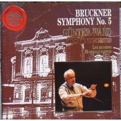 Bruckner: Symphony no. 5. Günter Wand. Berliner Philharmoniker. 1 CD. RCA.