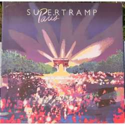 Supertramp: Paris. Live koncert fra 1980. 2 LP. A&M Records