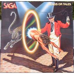 Saga: Heads or Tales. 1 LP. Elektra