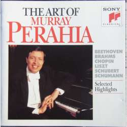 The Art of Murray Perahia. Beethoven, Chopin, Schubert, Schumann, Liszt. 1 CD. Sony